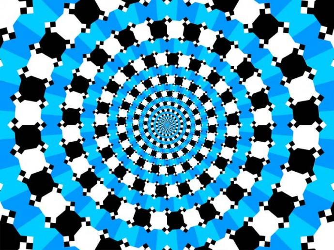 Вариация классической иллюзии Перельмана